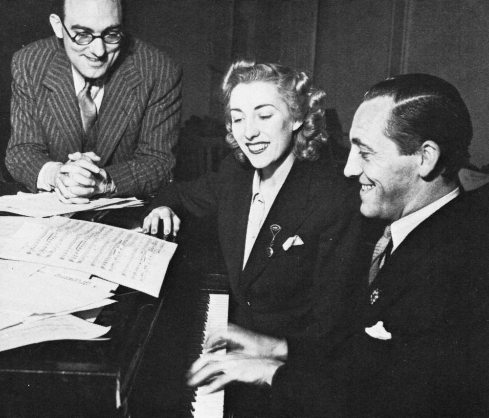 Howard Thomas, Vera Lynn, Fred Hartley